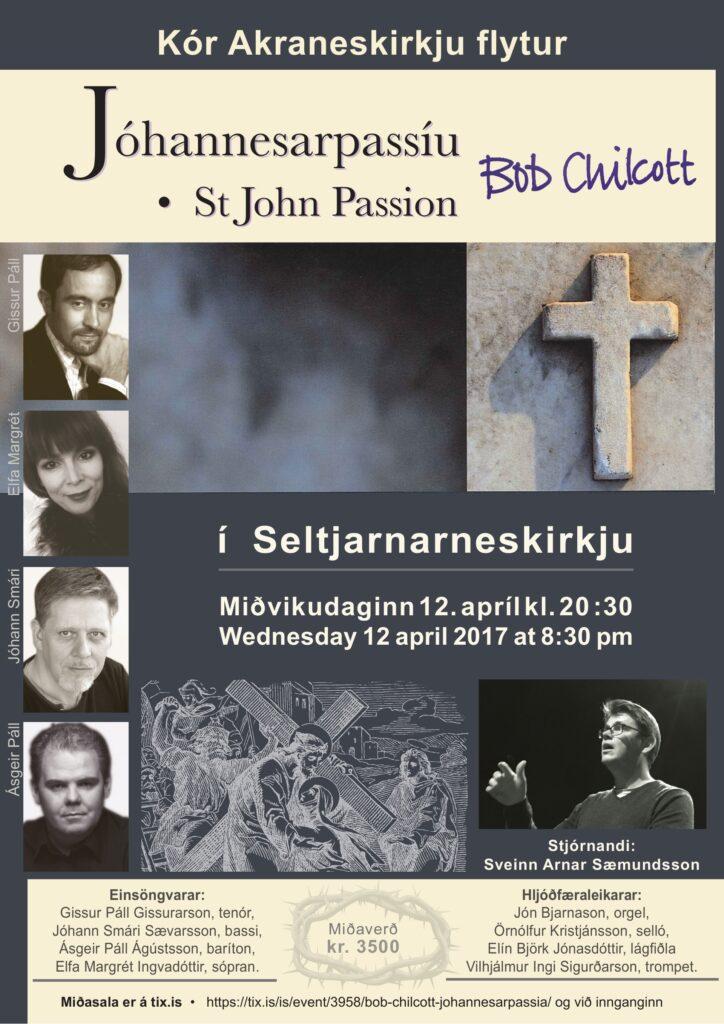 St John Passion - Plaggat án kórmyndar 12.4 2017