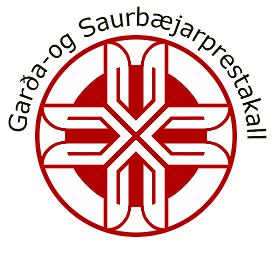Garða- og saurbæjarprestakall Logo