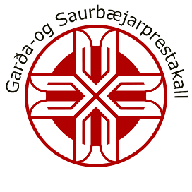 Garða- og saurbæjarprestakall Logo